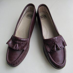 Sas Walking Shoes Tassled Leather Loafers Comfort